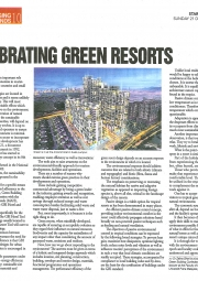 Celebrating Green Resorts
