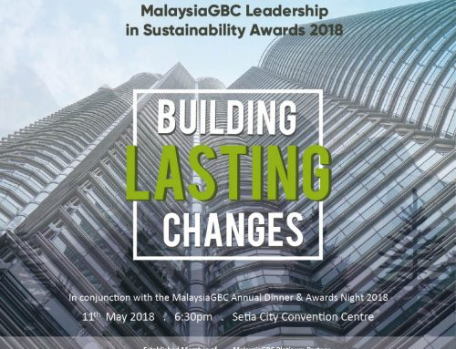 MalaysiaGBC Leadership in Sustainability Awards 2018