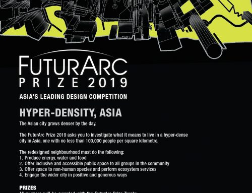 FUTURARC PRIZE 2019 – ASIA'S LEADING DESIGN COMPETITION INVITES YOU TO IMAGINE HYPER-DENSE CITIES