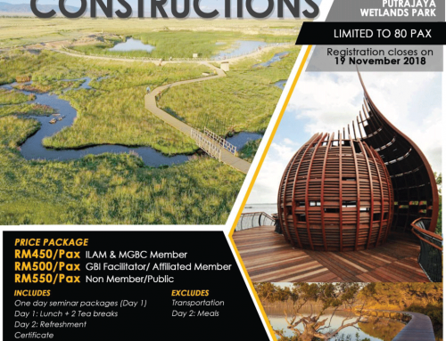 GBI Professional Series 2018 – Wetlands Design & Constructions