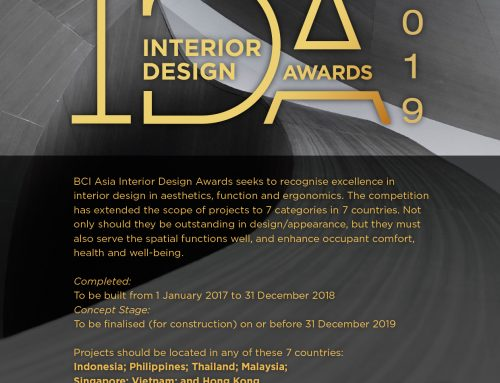 INTERIOR DESIGN AWARD 2019 – Excellent interior designs within an urban landscape