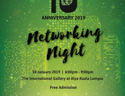 MalaysiaGBC 10TH ANNIVERSARY 2019 NETWORKING NIGHT
