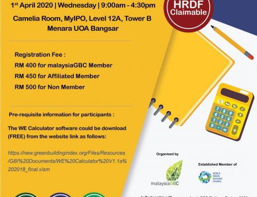 GBI Workshop 2020 – WE Calculator – 1 April 2020 – KL