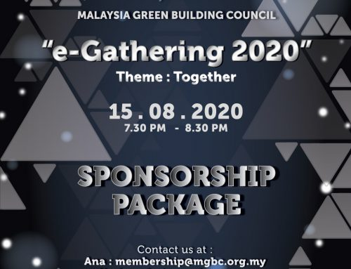 malaysiaGBC E-Gathering – CALL FOR SPONSORSHIP!