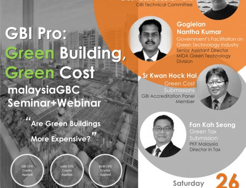 GBI Pro – GREEN BUILDING, GREEN COST (Physical & Webinar) – 26th Sept 2020 – Northern Chapter