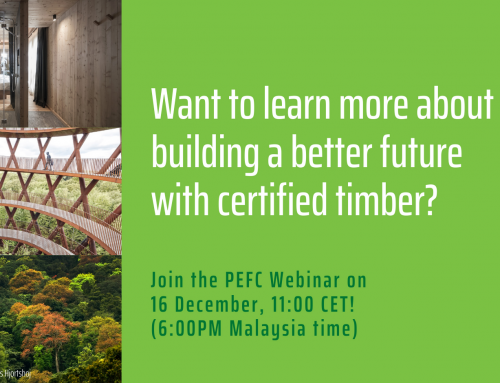 PEFC WEBINAR: BUILDING A BETTER FUTURE WITH CERTIFIED TIMBER – 16 Dec 2020