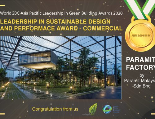 WorldGBC Asia Pacific Leadership in Green Building Awards: Leadership in Sustainable Design and Performance – Commercial