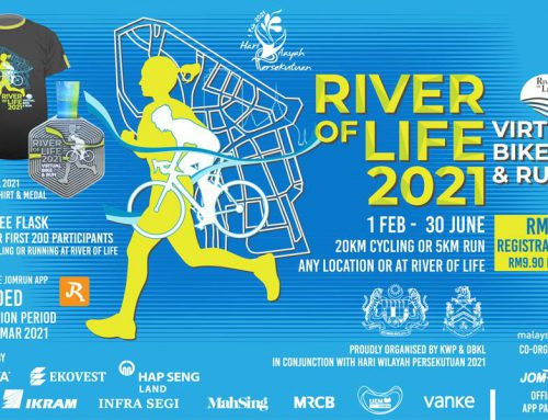 RIVER OF LIFE (ROL) 2021 – Virtual Bike & Run – 1 FEB – 30 JUNE 2021