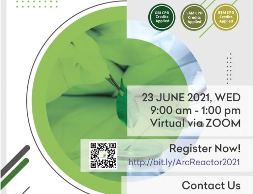 (POSTPONE TO NEW DATE – 23 JUNE 2021) malaysiaGBC EVENT – ACADEMIC RESEARCH COLLABORATION REACTOR PROGRAMME (ARC REACTOR 2021) – Virtual via ZOOM