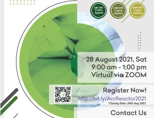 (POSTPONE TO NEW DATE – 28 Aug 2021) malaysiaGBC EVENT – ACADEMIC RESEARCH COLLABORATION REACTOR PROGRAMME (ARC REACTOR 2021) – Virtual via ZOOM