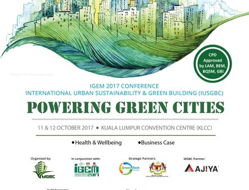IUSGBC IGEM Conference showcases Malaysia's lead in ASEAN with over 180 million sq ft of green buildings