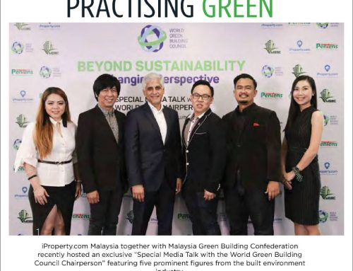 Driving Green, Building Green and Practising Green