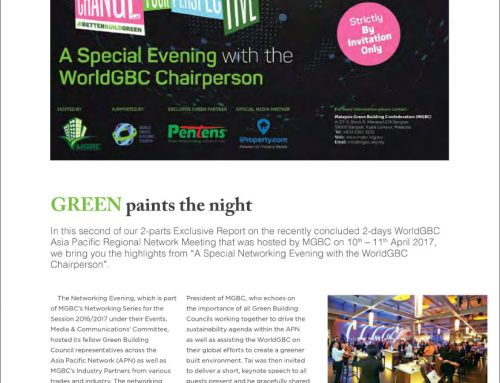GREEN Paints the Night